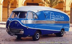 another non-car to make the list but it could not be included! A Pegaso Bacalao - great styling Cool Trucks, Cool Cars, Classic Trucks, Classic Cars, Monospace, Automobile, Gilles Villeneuve, Panel Truck, Weird Cars