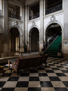 Main entrance hall of abandoned mansion in New Jersey  Flickr - Photo Sharing!