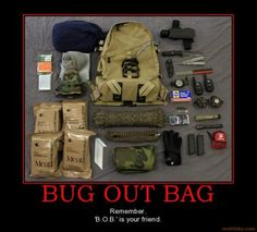 bug out bag for survival