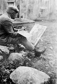 Marc-Aurèle Fortin // QC Odilon Redon, Art Criticism, John Singer Sargent, National Art, Canadian Artists, Sculpture, Museum Of Fine Arts, Art Studies, Portraits