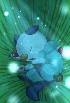 Sleeping Oshawott