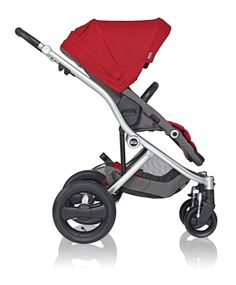 Affinity Stroller by Britax in Red Pepper #custom #bold #baby