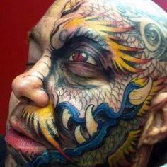 Unique tattoo eye-on-eye 3d Tattoos, Tattoos For Guys, 3rd Eye, Body Modifications, Week End, Body Art, Tattoo Designs, Halloween Face Makeup, Ink
