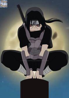 Itachi Uchiha na Anbu - Naruto. Itachi Uchiha, Itachi Akatsuki, Naruto Shippuden Sasuke, Naruto And Sasuke, Boruto, Sasuke Sarutobi, Anime Naruto, Naruto Art, Otaku Anime