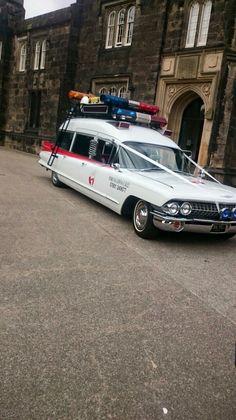 Ghostbusters wedding car