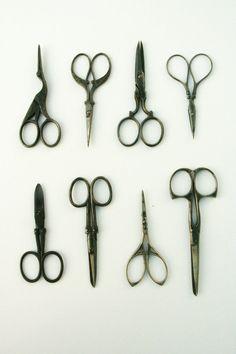 Antique scissors Italian Liberty beginning of by Andolinaswishes, €47.50