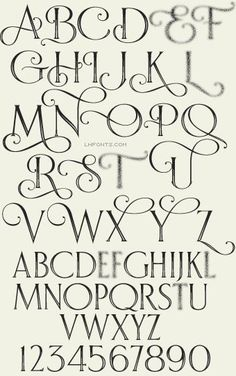 LHF Bella Vista font Elegant curves make this typeface perfect for designs requiring an air of sophistication such as weddings or formal parties. Set includes Regular, Shadow and Inset versions. Hand Lettering Alphabet, Doodle Lettering, Creative Lettering, Lettering Design, Alphabet Fonts, Letter Fonts, Doodle Fonts, Graffiti Alphabet, Letter Stencils