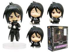 anime action figures | ... Details: Kuroshitsuji anime figures/pvc figure/action figure toys
