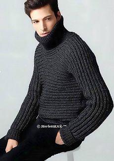 Вязание спицами - пуловер и снуд