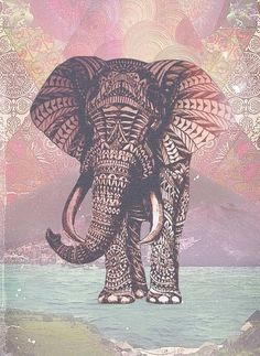 Just made an elephant ^_^ | We Heart It
