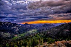 Sunrise in the Rockies by Mark Bernat