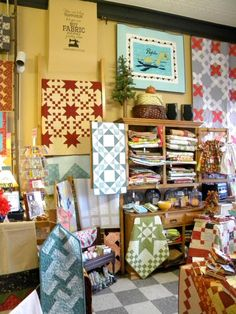 One of my very favourite quilt shops! Owned by 2 great and very ... : quilt junction waterford ontario - Adamdwight.com