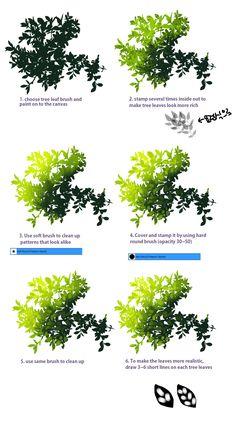 plant tutorial by ryusin.deviantart.com on @DeviantArt