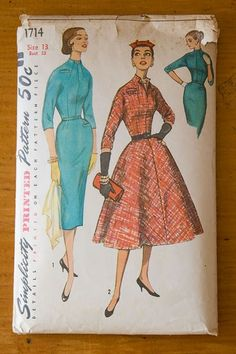 Simplicity 1714 from 1956 #1950s