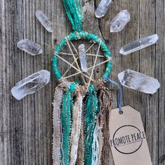 Boho'ed out with this Dreamer! Angel Aura Quartz for all the good vibes!