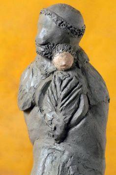 Susie Prunes - São Benedito I Escultura em Cerâmica