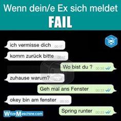 Lustige WhatsApp Bilder und Chat Fails 204 - Ex