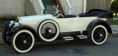 1921 HCS Type 3 Four Passenger Touring - After Harry C. Stutz sold his Stutz Automobile Company in 1919 he created this make using his initials in Indianapolis from 1920-1925. This car has an overhead valve 4-cylinder, 50 HP engine capable of 70 mph. Note the sporty step plates in lieu of runningboards.