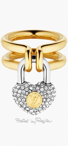 Gift for girlfriend - irresistible image Dior Jewelry, Jewelry Accessories, Fashion Jewelry, Jewelry Design, Women Jewelry, Louis Vuitton Accessories, Louis Vuitton Handbags, Unusual Rings, Diamond Are A Girls Best Friend
