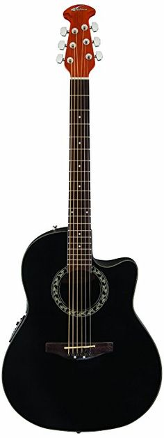 Ovation AB24-5 Acoustic-Electric Guitar, Applause Balladeer Cutaway Dreadnought  189$