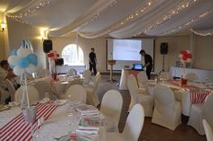 Candy Stripe themed party