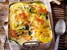 Lachs-Kartoffel-Auflauf Rezept | LECKER