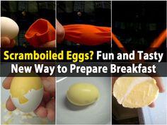 Scramboiled Eggs? Fun and Tasty New Way to Prepare Breakfast