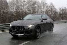 Gallery: 2017 Maserati Levante SUV in the Wild