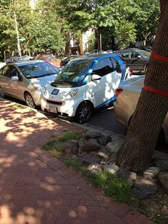 The advantages of driving a smart car.
