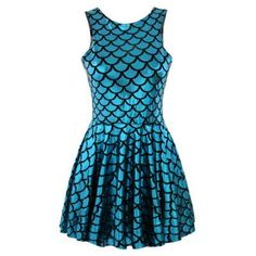 EAST KNITTING X-382 Free Shipping New Arrival Autumn Women Mermaid Pleated Skater Dress Punk Clothing Plus Size