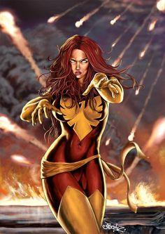 if i could be a mutant, i'd want to be her...the dark phoenix :)