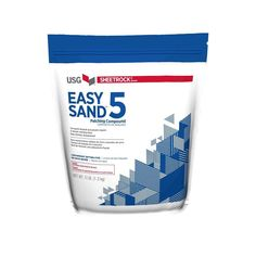 Easy Sand 5 Lightweight Setting-Type Joint Compound - 384024 - The Home Depot Plaster Repair, Wood Repair, Skim Coating, Drywall Tape, Concrete Ceiling, General Construction, Stone Panels, Tongue And Groove, Bedroom Color Schemes