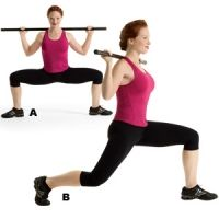 BUILD A BETTER BOOTY: To get a gorgeous bum do these moves twice a week. Complete the recommended sets and reps, opting for a weight at which you can barely eke out the last rep of your final set with perfect form.