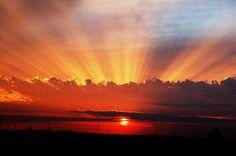 Friday Evening Sunset, Enid, Oklahoma