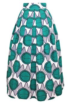 Swirls Wax Print Pleated Skirt - Absolutely Waisted Boutique - #StatementSkirt #Ankara #AfricanPrint#Ankara #WaxPrint #MidiSkirt#AbsolutelyWaisted #TribalGlam Ethnic Fashion, African Fashion, Womens Fashion, Pleated Skirt, Midi Skirt, African Clothes, 2 Piece Outfits, African Style, Ankara Styles