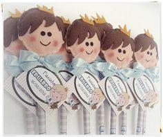 Ponteira de lápis - Principe  Acompanha o lápis personalizado, cartão de agradecimento, laço com fita de cetim.  Produto feito à mão de feltro com enchimento 100% anti-alérgico.