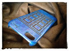 Time Travel iPhone 5S Leather Case by HarrismaLeatherGoods, $39.30