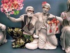 Gucci Social Media Campaign Slammed for 'Artistic Vandalism' of Parthenon Sculptures - GTP Headlines Gucci Campaign, Media Campaign, Gucci Dress, Parthenon, Fashion Articles, Dionysus, Vaporwave, Sculptures