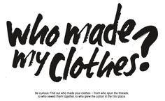 Het Fashion Revolution Day stokje: 6 vragen over eerlijke kleding | Ma vie en vert