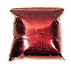 "9oz / 266ml Royal Red Metal Flake .015"" Auto Paint Additive Custom Flakes LF089 #LuxeFlake"
