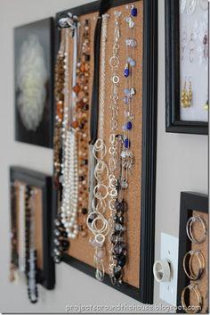 Jewelry Organization Display Tutorial