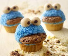 Rezept: Lustige Monster Muffins