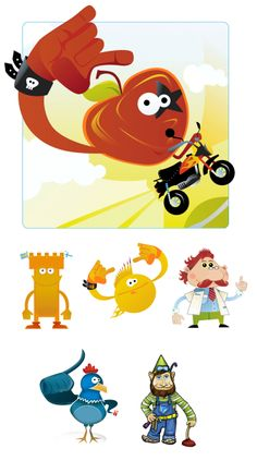 Rock apple, doctor and other characters for various customers. Apple Doctor, Scooby Doo, Rock, Illustration, Artwork, Fictional Characters, Work Of Art, Auguste Rodin Artwork, Skirt