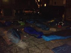 Last night, 31 local executives, community leaders and celebrities slept outside in solidarity with the hundreds of young people who call Va...