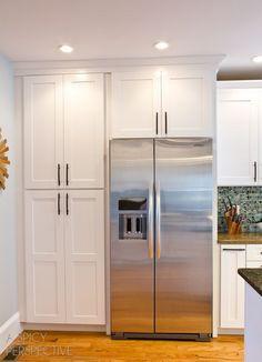 Corner Pantry Home Renovation Improvements