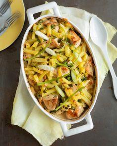 Broileri-kermaperunavuoka Helppo ja ruokaisa vuokaruoka, jonka kypsyessä hoituvat kotityöt.