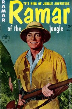 'Ramar of the Jungle' TV series 1952 -1954. John Hall. Great early TV show.