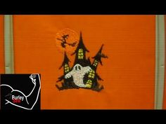 Brother SE400 Programed Halloween Embroidery Design Tutorial