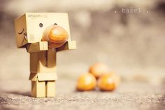 . hazel . {P52} #39, via Flickr. Danbo