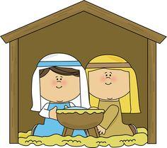 Mary and Joseph Clip Art - Mary and Joseph Image